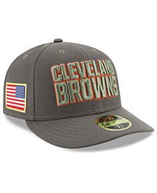 New Era Cleveland Browns Salute To Service Low Profile 59FIFTY Fitted Cap