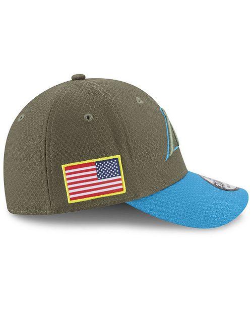New Era Carolina Panthers Salute To Service 39THIRTY Cap - Sports ... d05cfb720