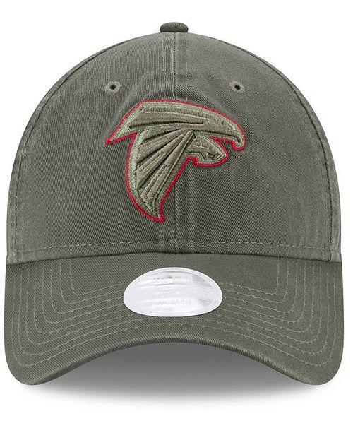 New Era Women s Atlanta Falcons Salute To Service 9TWENTY Cap - Sports Fan  Shop By Lids - Men - Macy s cc9a9fbe2d