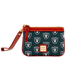 Dooney & Bourke Oakland Raiders Exclusive Wristlet