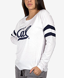 NUYU Women's California Golden Bears Long Sleeve Crew Sweatshirt