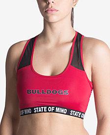 NUYU Women's Georgia Bulldogs Racer Back Bra