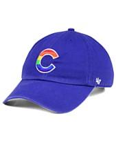 reputable site fb6ed 7ef22  47 Brand Chicago Cubs Pride CLEAN UP Cap