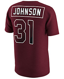 Nike Men's David Johnson Arizona Cardinals Pride Name and Number Prism T-Shirt