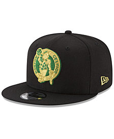 New Era Boston Celtics Gold on Team 9FIFTY Snapback Cap
