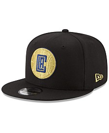 New Era Los Angeles Clippers Gold on Team 9FIFTY Snapback Cap