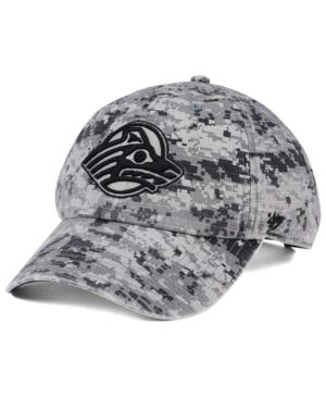 '47 Brand Alaska Anchorage Seawolves Operation Hat Trick Camo Nilan Cap Men Activewear - Sports Fan Shop By Lids