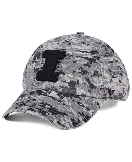 online store db878 1347b 47 Brand Illinois Fighting Illini Operation Hat Trick Camo Nilan Cap ...