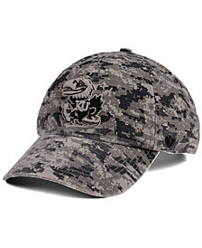 '47 Brand Kansas Jayhawks Operation Hat Trick Camo Nilan Cap