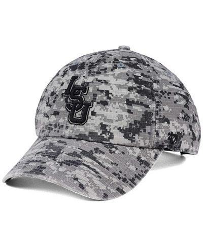 '47 Brand LSU Tigers Operation Hat Trick Camo Nilan Cap