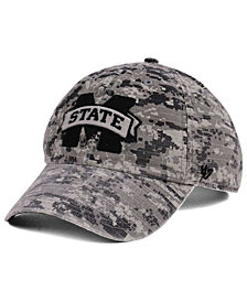 '47 Brand Mississippi State Bulldogs Operation Hat Trick Camo Nilan Cap