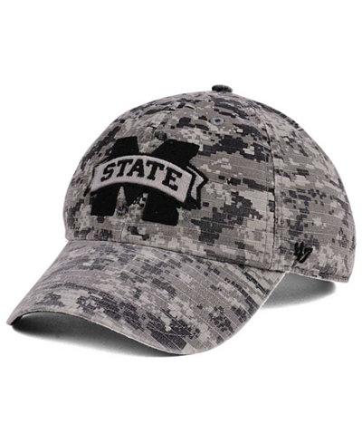'47 Brand Mississippi State Bulldogs Operation Hat Trick Camo Nilan Cap