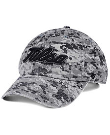 '47 Brand Tulsa Golden Hurricane Operation Hat Trick Camo Nilan Cap