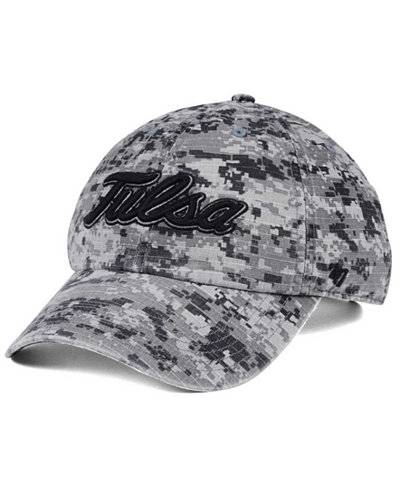 '47 Brand Tulsa Golden Hurricane Operation Hat Trick Camo Nilan Cap
