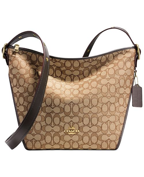 4884e505ed0f COACH Dufflette   Reviews - Handbags   Accessories - Macy s