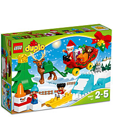 LEGO® DUPLO® 45-Pc. Town Santa's Winter Holiday 10837