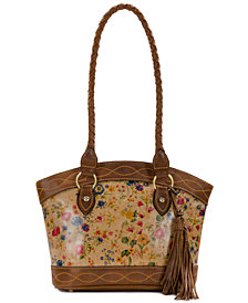 Patricia Nash Prairie Rose Zorita Shoulder Bag