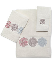 Avanti Emmeline Cotton Embroidered Bath Towels