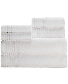 Beacon Cotton 6-Pc. Textured Towel Set