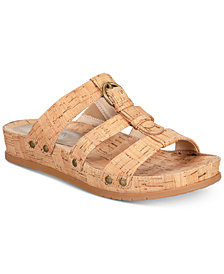 Baretraps Cella Memory Foam Slip-On Sandals