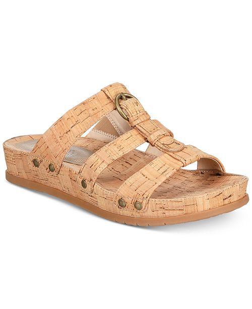 84dda868e11 Baretraps Cella Memory Foam Slip-On Sandals   Reviews - Sandals ...