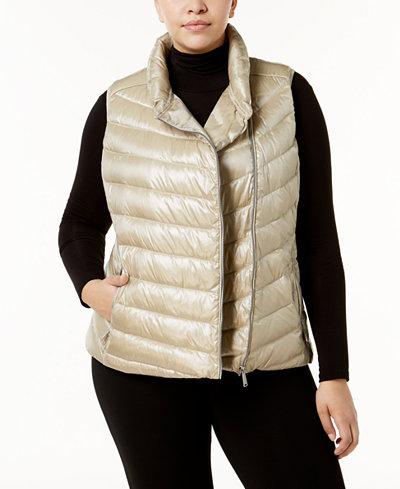 Calvin Klein Performance Plus Size Quilted Vest