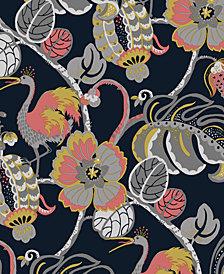 Genenieve Gorder For Tempaper Tropical Fete Self-Adhesive Wallpaper