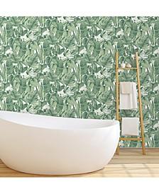 Tropical  Self-Adhesive Wallpaper, 56 Sq.Ft