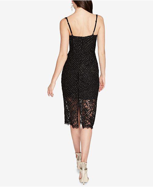 Studded Lace Slip Dress Rachel Rachel Roy 2018 Sale Online JE3MA