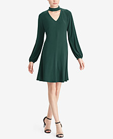 American Living Choker Fit & Flare Dress