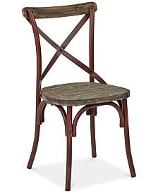 Glenman X-Back Dining Chair, Quick Ship