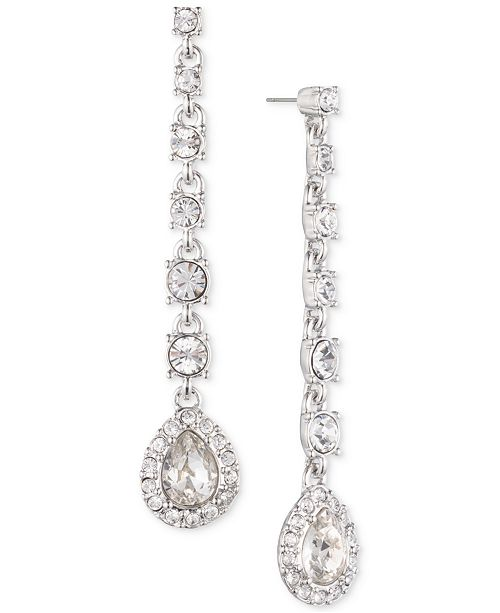 b0fd3f72736d7 Givenchy Crystal Linear Drop Earrings & Reviews - Fashion Jewelry ...