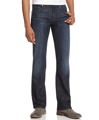 7 For All Mankind Men's Austyn Relaxed Straight Fit Jeans, Los ...