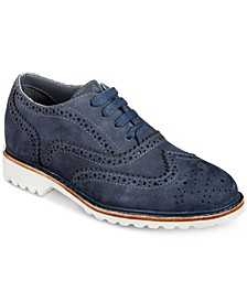 Wing Brogue Dress Shoes, Little Boys & Big Boys