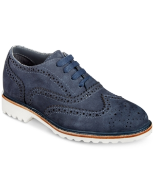 Image of Kenneth Cole New York Wing Brogue Dress Shoes, Little Boys & Big Boys