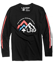 LRG Men's Mountain Original Logo-Print T-Shirt