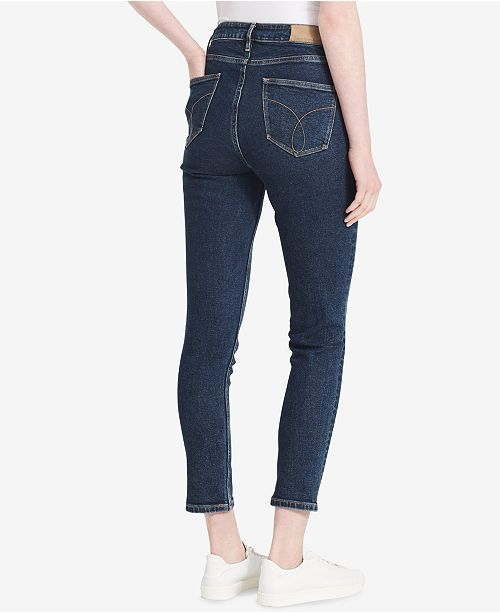 ae4600bf3c386 Calvin Klein Jeans High-Rise Skinny Jeans & Reviews - Jeans - Women ...