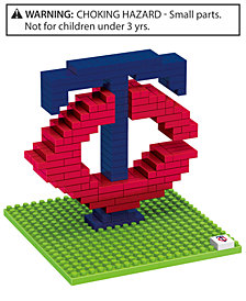 Forever Collectibles Minnesota Twins BRXLZ 3D Logo Puzzle