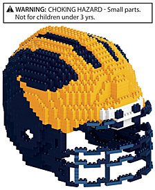Forever Collectibles Michigan Wolverines BRXLZ 3D Helmet Puzzle