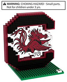 Forever Collectibles South Carolina Gamecocks BRXLZ 3D Logo Puzzle