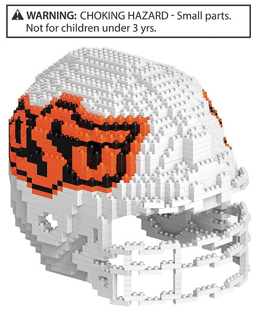 Forever Collectibles Oklahoma State Cowboys BRXLZ 3D Helmet Puzzle
