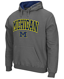 Colosseum Men's Michigan Wolverines Arch Logo Hoodie