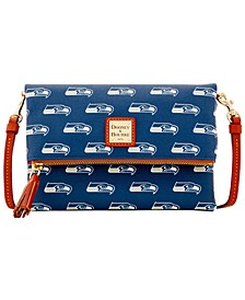 Seattle Seahawks Foldover Crossbody Purse