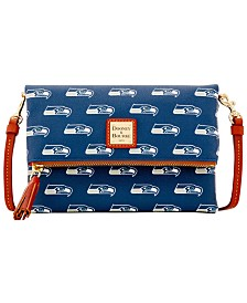 Dooney & Bourke Seattle Seahawks Foldover Crossbody Purse