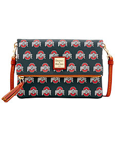 Dooney & Bourke Ohio State Buckeyes Foldover Crossbody Purse