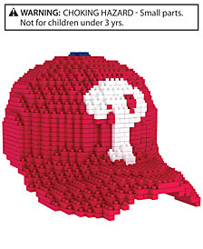 Forever Collectibles Philadelphia Phillies BRXLZ 3D Baseball Cap Puzzle