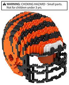 Forever Collectibles Cincinnati Bengals BRXLZ 3D Helmet Puzzle