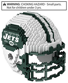 Forever Collectibles New York Jets BRXLZ 3D Helmet Puzzle