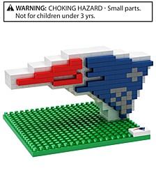 New England Patriots BRXLZ 3D Logo Puzzle