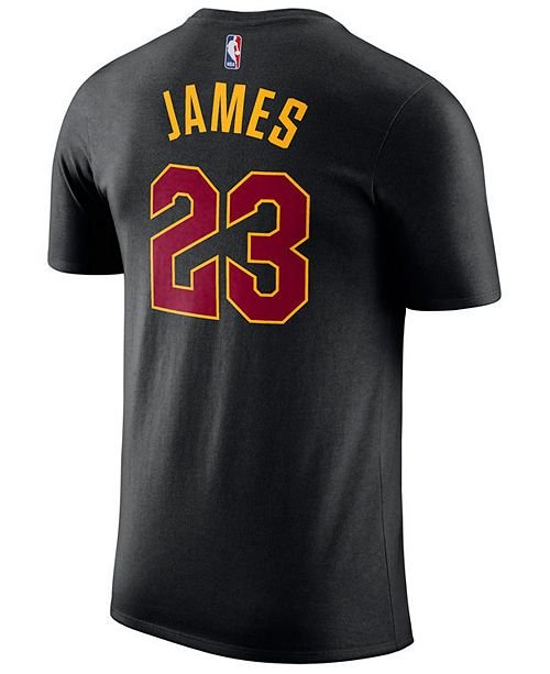 81c0c787d64a ... Nike Men s Lebron James Cleveland Cavaliers Name   Number Player ...